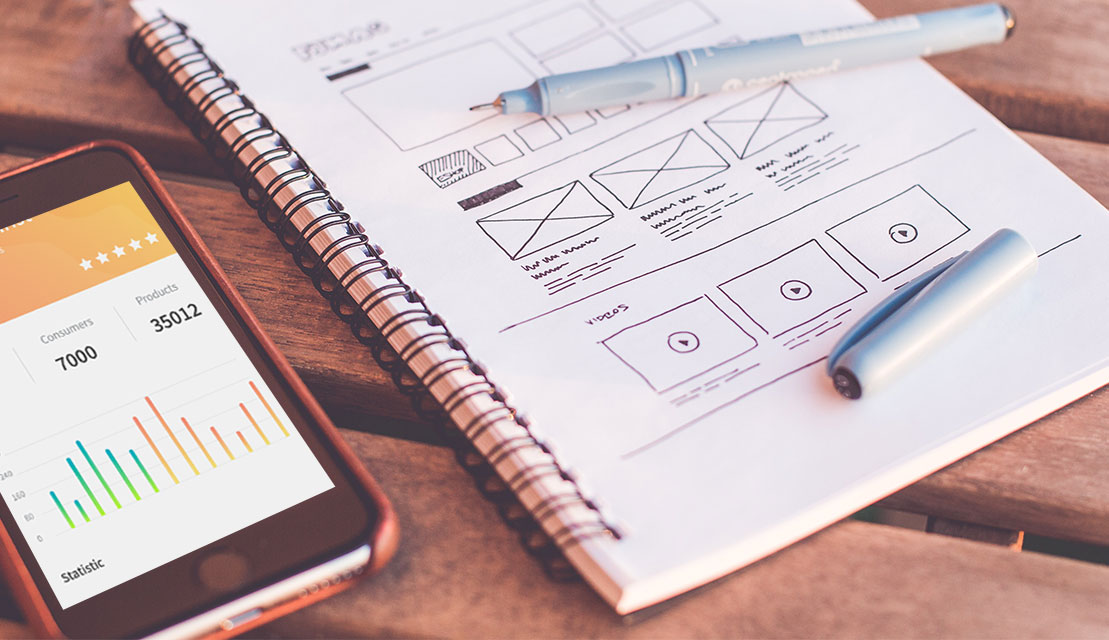 How to create a wireframe for Mobile App Development and Web App Development