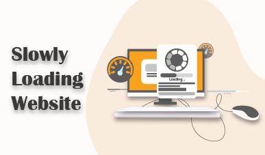 Slowly loading web - web design jacksonville