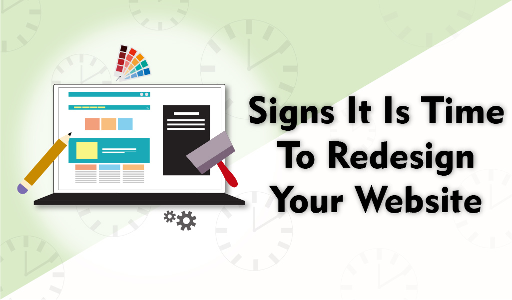 Signs its time to redesign your website - Web Design Jacksonville