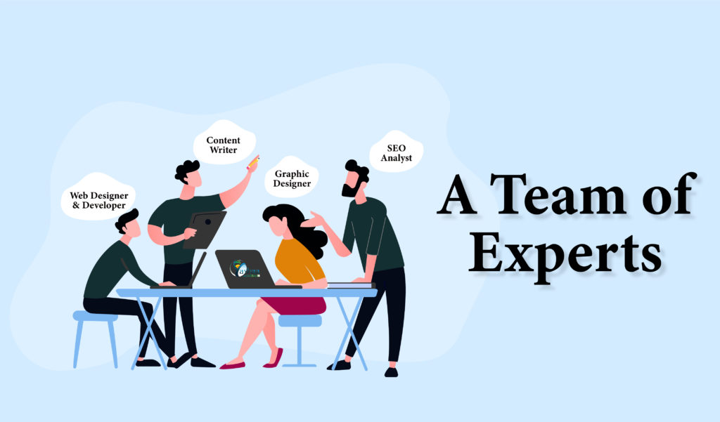 A Team of Experts - Web Design Experts