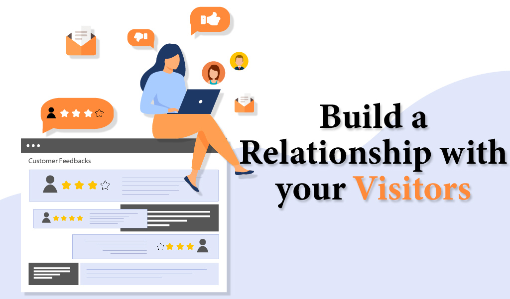 Build a relationship with your visitors - Digital Marketing Jacksonville