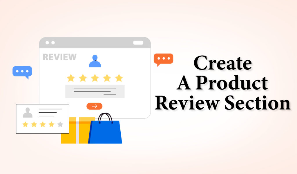 Create A Product Review Section - SEO Company