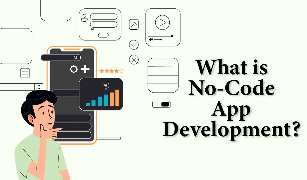 What is no code app development