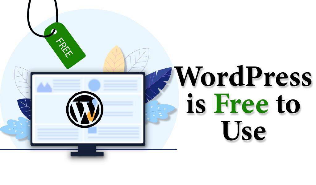 WordPress is Free to Use-Web Design Jacksonville